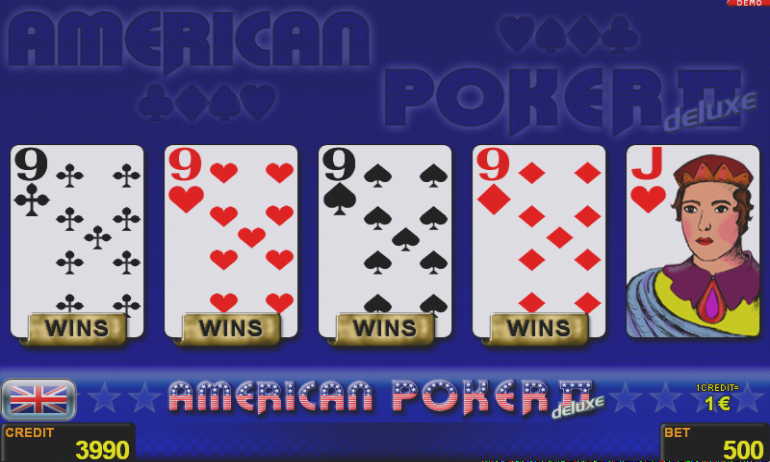 American Poker II™ deluxe