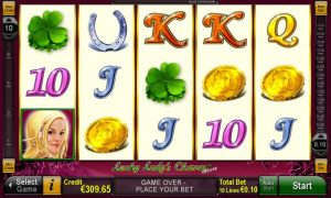 Casino Slot Lucky Lady's Charm™ deluxe
