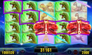 T-Rex Track Slot Online Gratis