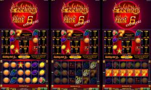 Casino Slot Sizzling Hot™ 6 extra gold