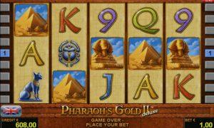 Pharaoh's Gold II™ deluxe Slot Online Gratis