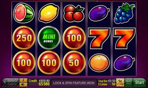 Sizzling Hot™ – Lock 'N' Win free slot machine