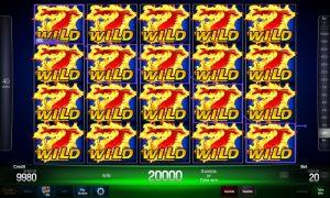 Blazing Fruits™ pro 40 free slot machine