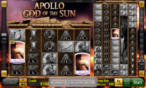 Apollo God of the Sun Slot Online Gratis