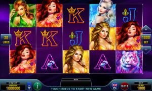 Amazon Beauties free slot machine