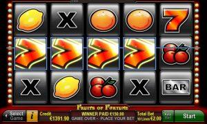 Fruits of Fortune™ Slot Online Gratis