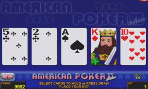 American Poker II™ deluxe Slot Online Gratis