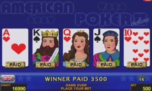 Casino Slot American Poker II™ deluxe