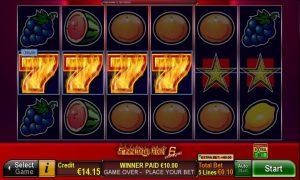 Sizzling Hot™ 6 extra gold Slot Online Gratis
