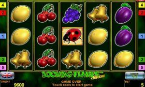 Casino Slot Booming Flames™ deluxe