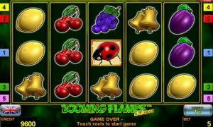 Booming Flames™ deluxe free slot machine