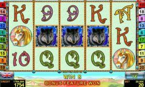 Wings of Fire™ free slot machine