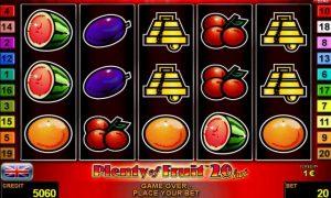 Plenty of Fruit™ 20 hot Slot Online Gratis