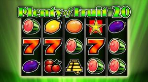 Plenty of Fruit™ 20 Slot Online Gratis